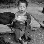 Images of Chinese famine during the Civil War - Chinese child