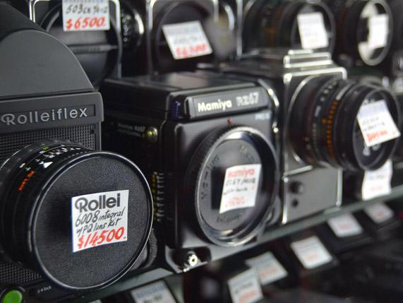 Camera market in Hong Kong