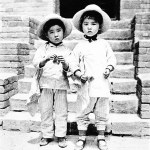 David Gamble - old images of China - two Chinese girl