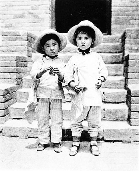Chinese kids 1917 - 1919