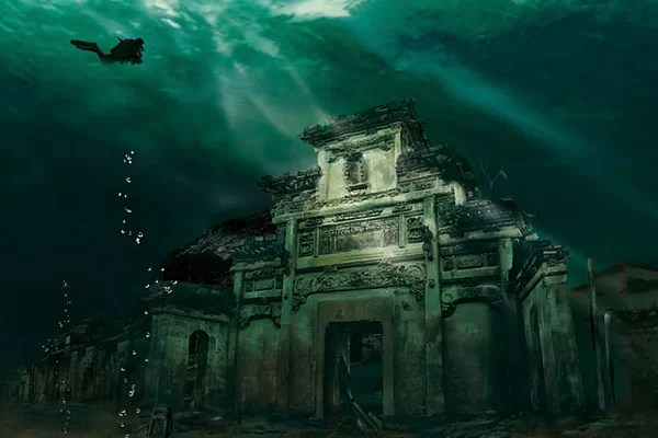 Flooded City of Shicheng