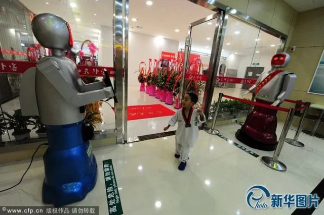Robot Restaurant in China
