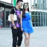 China street style fashionista