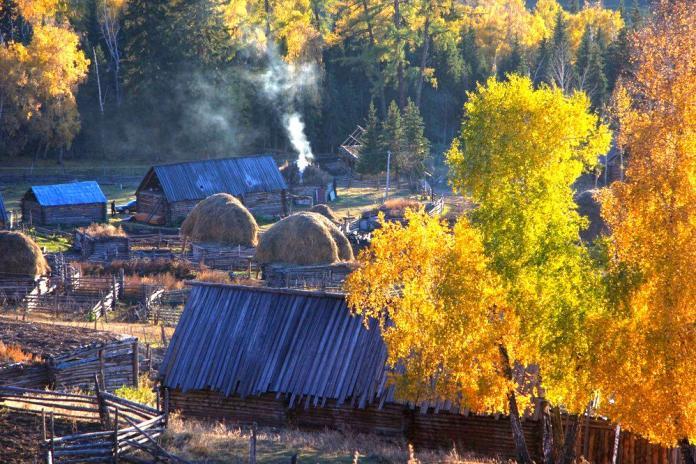Kanas Lake---Xinjiang-China