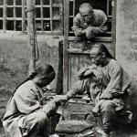 tourist during the Qing dynasty-Historical photos of China (1850-1989)