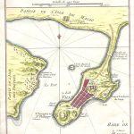 Plan de la Ville et du Port de Macao.