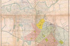 1930 Nikkodo Map of Tienjien