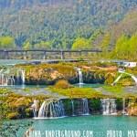 waterfall luoping yunnan china