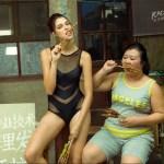 model in China