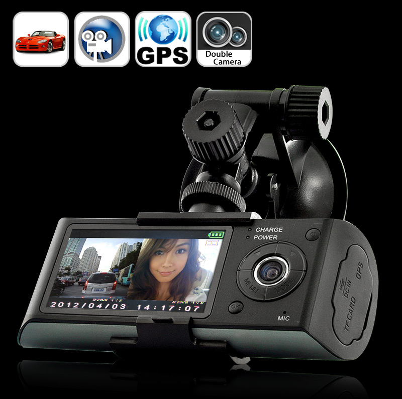 Dual Camera Car Blackbox