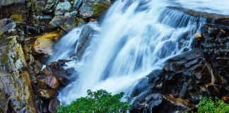 Nanen waterfall Yunnan China