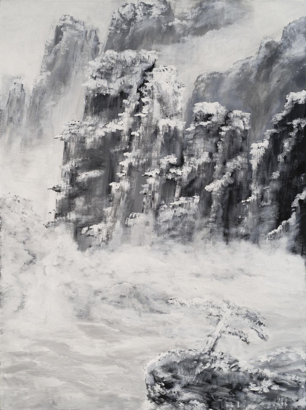 Yu Jianrong oil painting