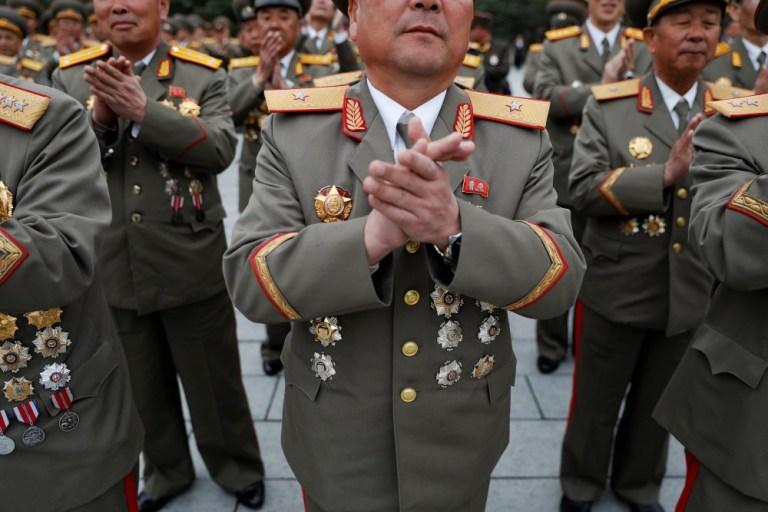 tension over North Korea