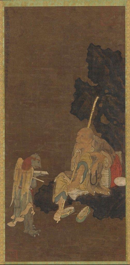 Luohan and Demon