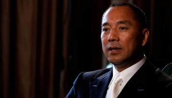 Exiled Chinese tycoon Guo Wengui