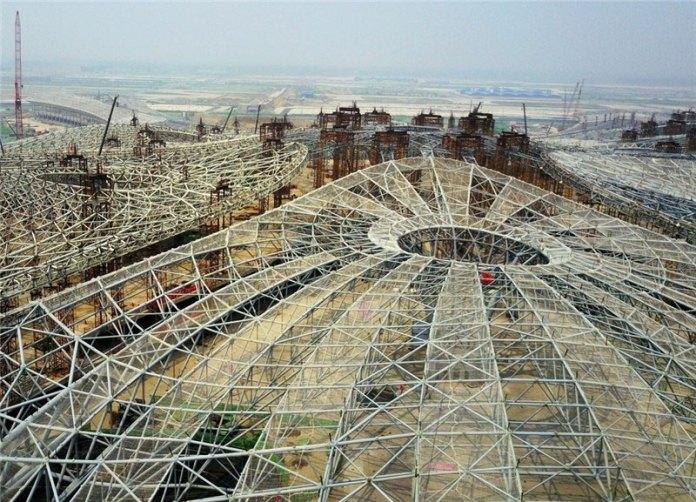 beijing daxing airport construction