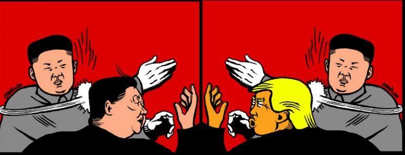 Badiucao-Chinese response to North Korea nuclear tests