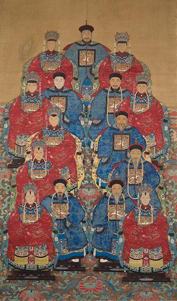 Multi-Generation Ancestor Group Portrait