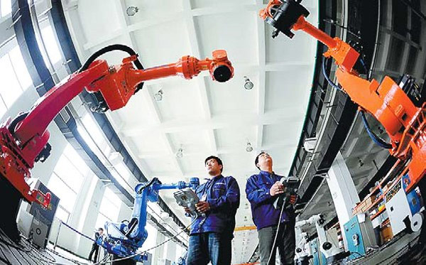 China's-largest-robotic-industrial-base