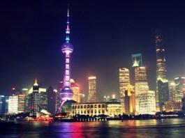 The-Shanghai-cityscape-at-night-China-gambling
