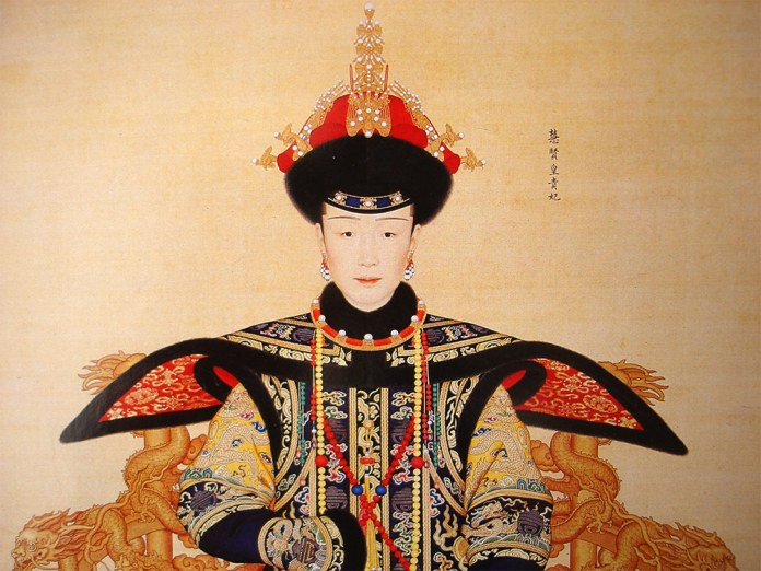 Concubine of the Emperor Qianlong who lived from 1711 - 1799