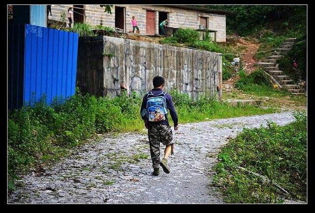 china landmine village