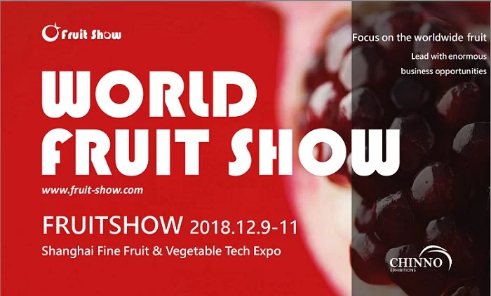 World Fruit Show 2018