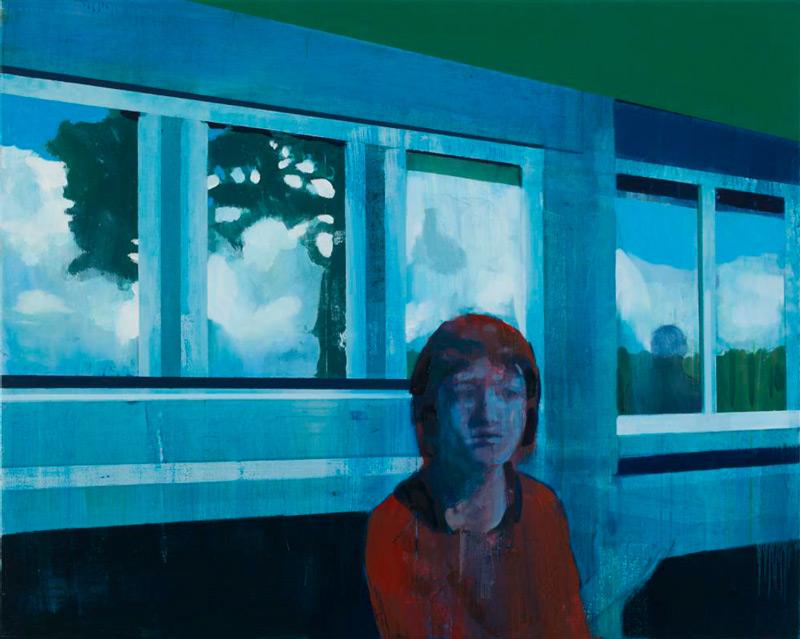Kenneth Blom, Reflection, Oil on Canvas, 2015