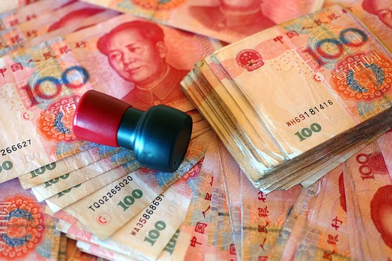 massive chinese debt