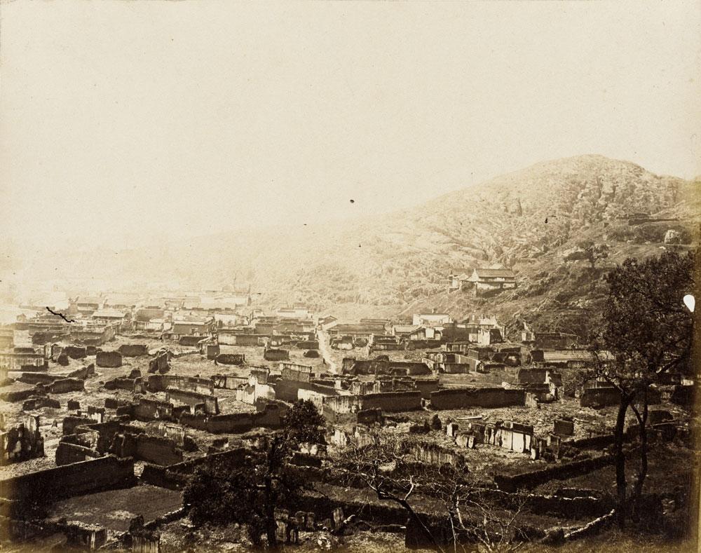 Ruined-Village,-N.-China