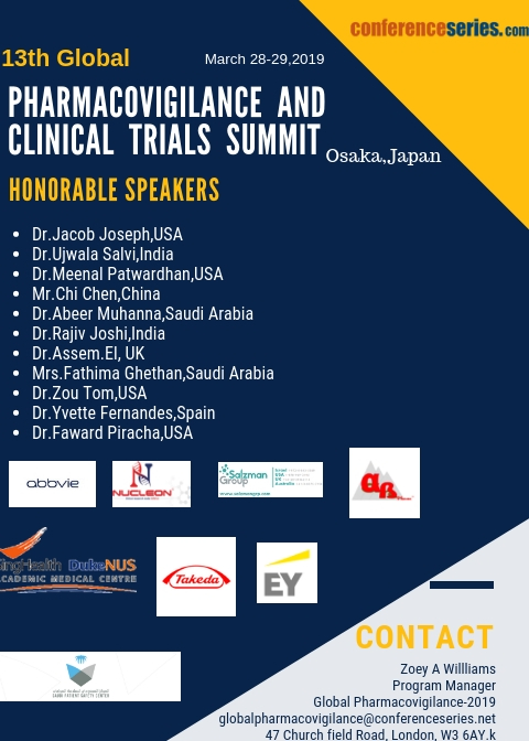 Global Pharmacovigilance and clinical trials summit