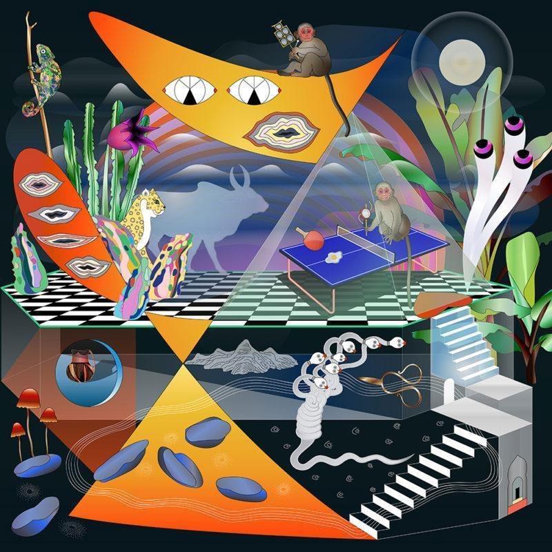 "Yunfan Sun, ""Spooky Party"" (2017), archival pigment print, 42 x 42 inch"