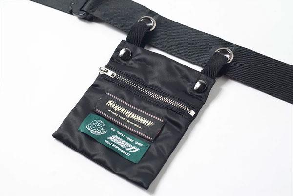 Mukzin-Designer-Brand-Sports-Belt-Bag--MONSTER-SWEETHEART