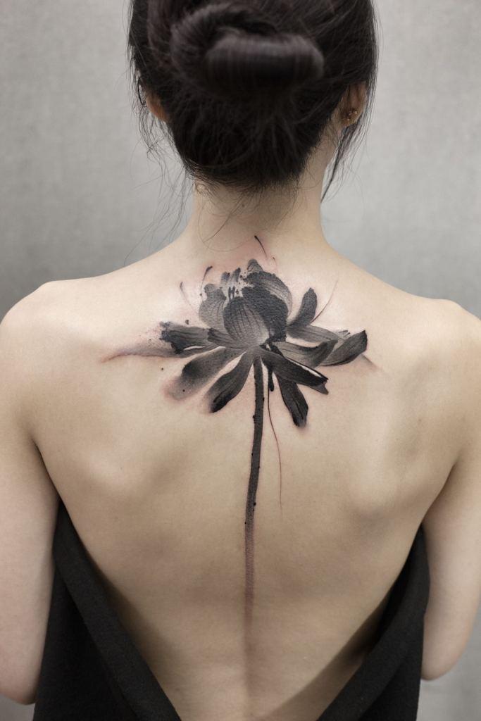 Chen Jie tattoo artist chinese style