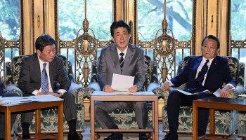 shinzo-abe---Taro-Aso-Japan national security list