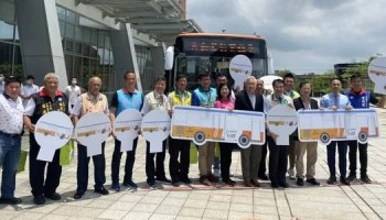 Taiwan-based autonomous driving firms launch self-driving bus rapid transit services in their home market
