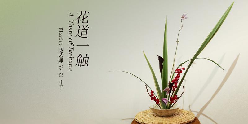 2020 Ikebana Workshop Poster: Ziyan Luo