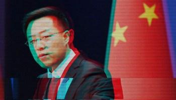 zhao lijian-China sanctions Boeing