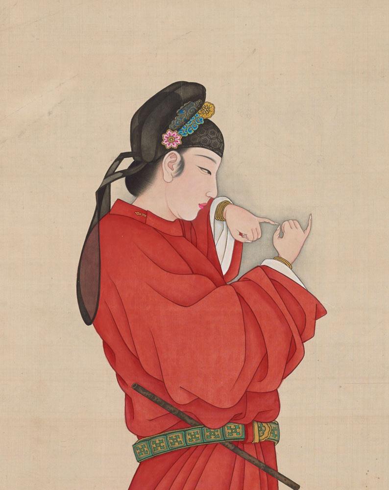 Copy-of-Qian-Xuan's-Court-Lady,-1994,-by-Huang-Jun
