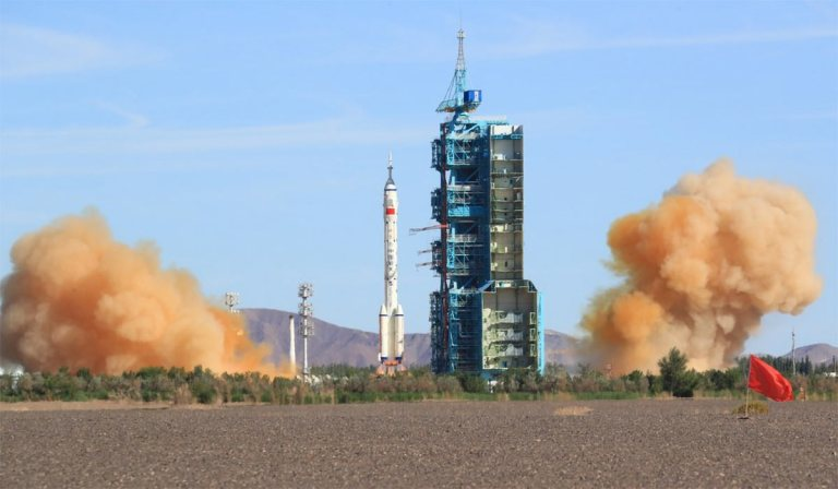 China's-Shenzhou-12-manned-spaceship-docks-with-space-station-module