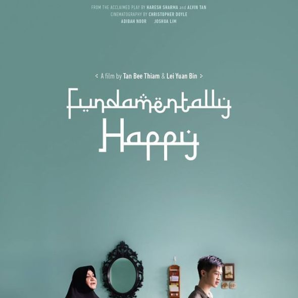 """Poster for the movie """"Fundamentally Happy"""""""