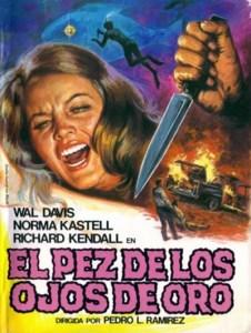 """Poster for the movie """"El pez de los ojos de oro"""""""