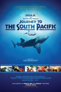 "Poster for the movie ""Journey to the South Pacific"""