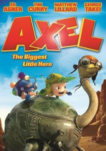 """Poster for the movie """"Axel: The Biggest Little Hero"""""""