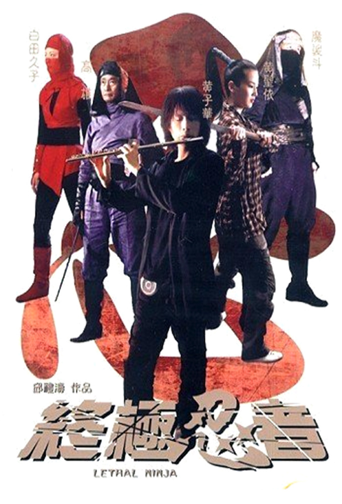"""Poster for the movie """"Lethal Ninja"""""""