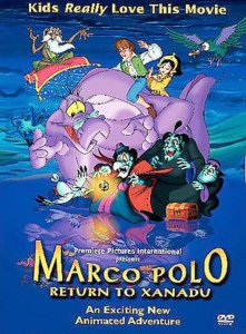 """Poster for the movie """"Marco Polo: Return to Xanadu"""""""