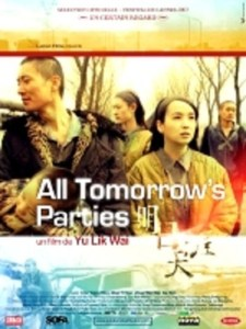 """Poster for the movie """"All Tomorrow's Parties"""""""
