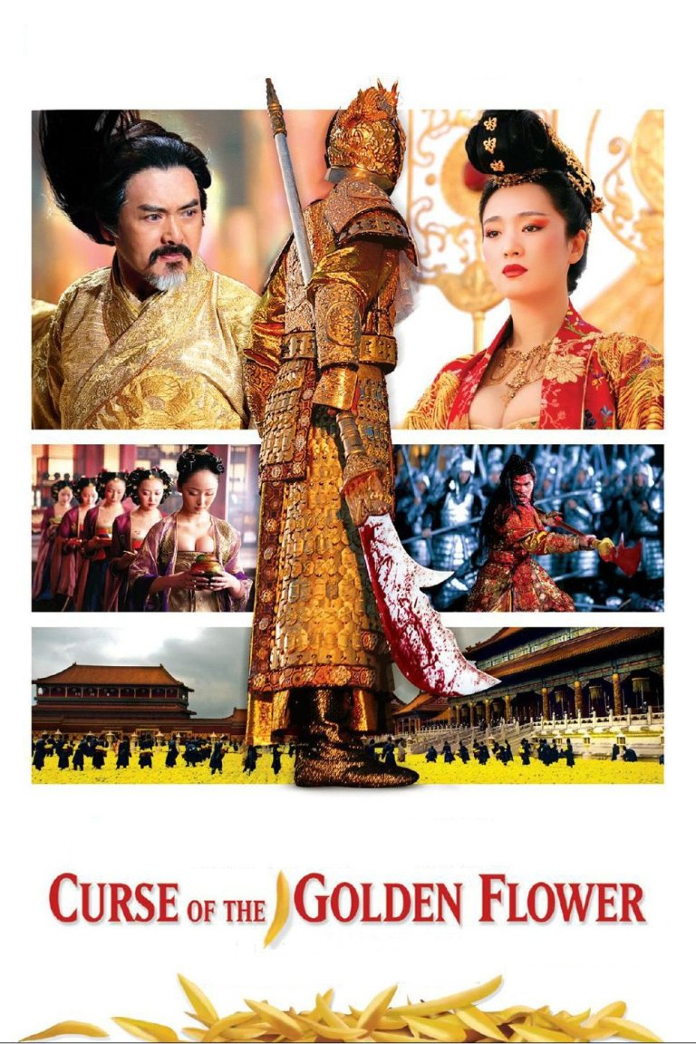 """Poster for the movie """"Curse of the Golden Flower"""""""