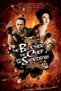 """Poster for the movie """"The Butcher, the Chef, and the Swordsman"""""""