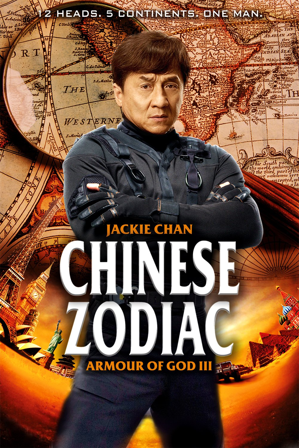 """Poster for the movie """"Chinese Zodiac"""""""